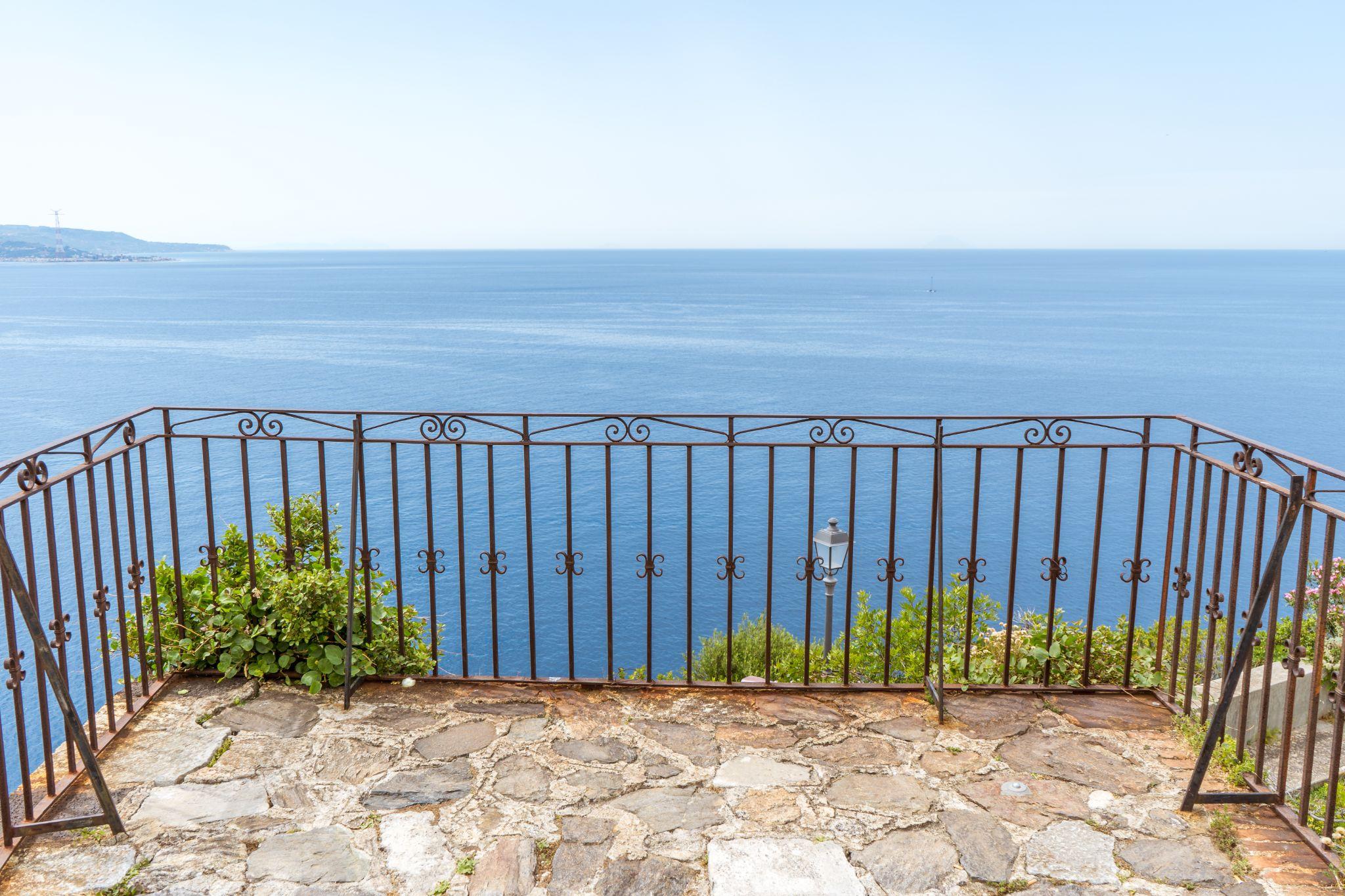 Balcony on the sea